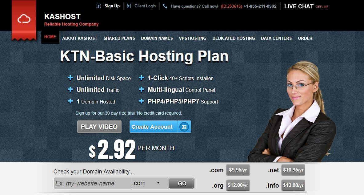 kAsTech Web Hosting